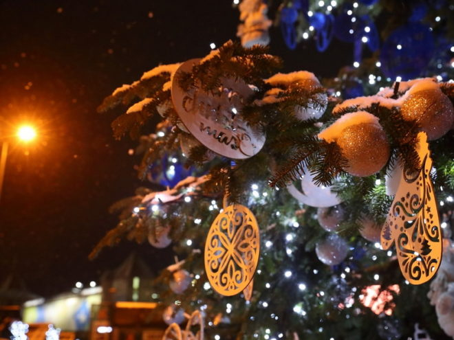 Тур в Буковель на католическое Рождество. Лого