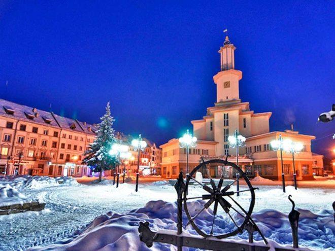 Рождественский тур в Прикарпатье.Фото2