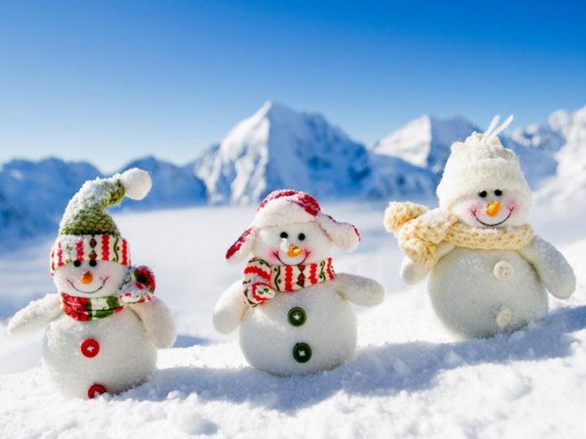 Драгобрат на Рождество