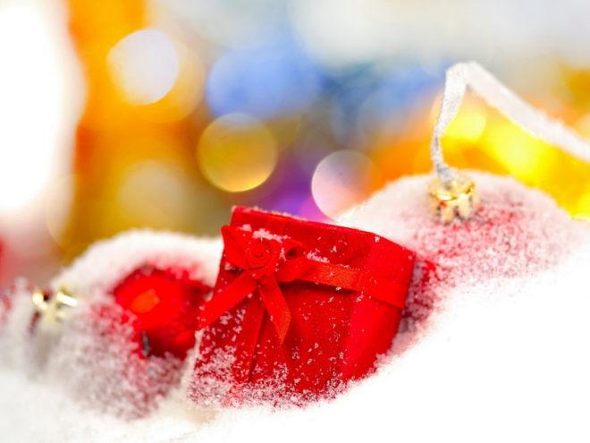 Серебряный Водограй на Рождество